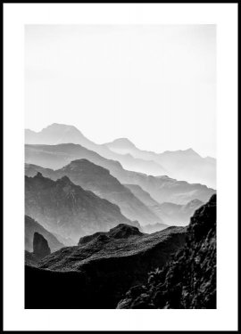 Black mountains Poster